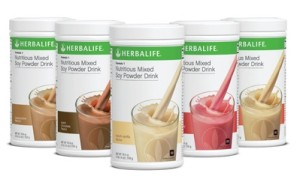 Herbalife Mixed Soy Milk Powder range
