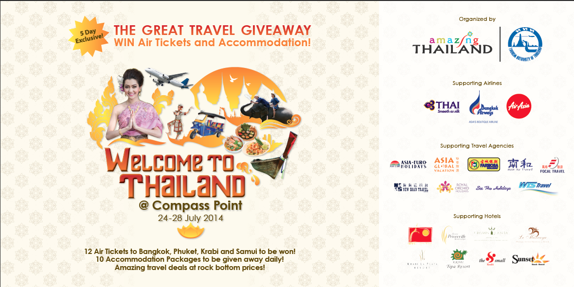Organised By Thai Tourism Board The Fair Is Happening At Compass Point From 24th