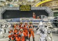 The Force Awakens at Changi Airport: Star Wars Mania with R2-D2 ANA Dreamliner