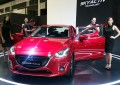 The new Mazda CX3 and 2 sedan at the 2016 Singapore Motorshow