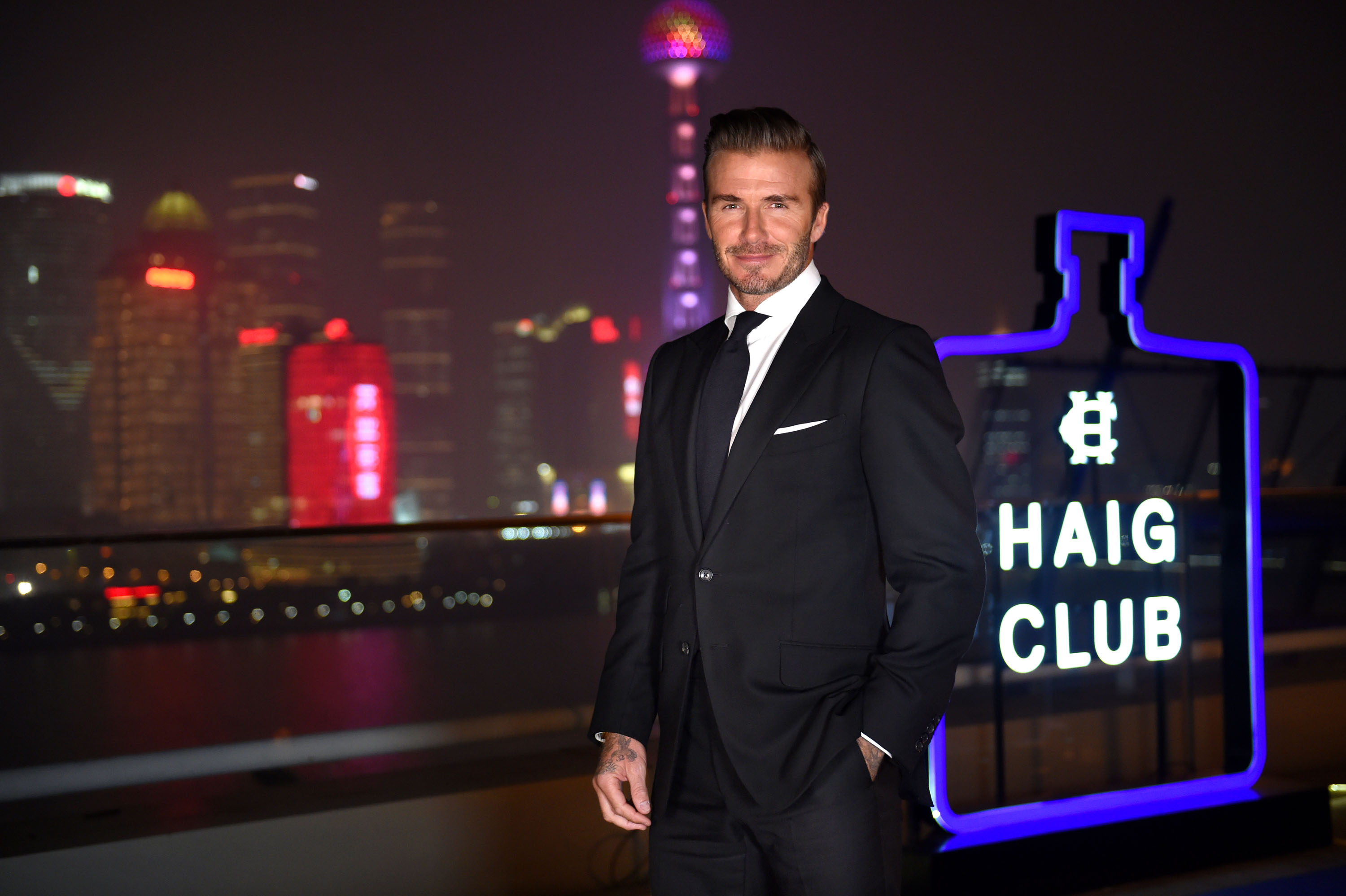 Image 1- David Beckham at HAIG CLUB™ Shanghai