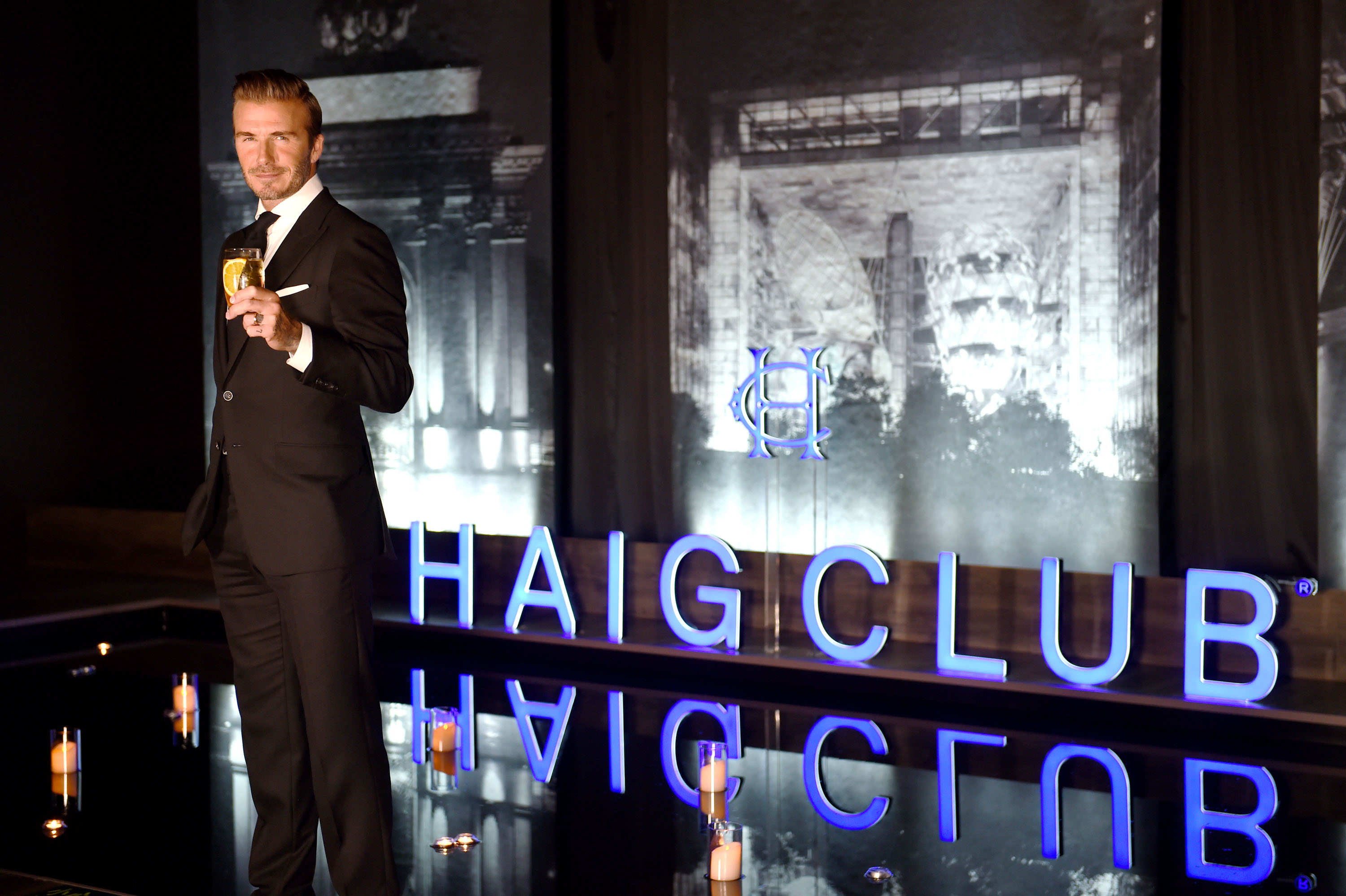 Image 3- David Beckham at HAIG CLUB™ Shanghai
