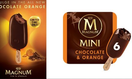 Indulge in the new limited-edition Magnum Chocolate Orange at only S$10.90 for a minipack of six