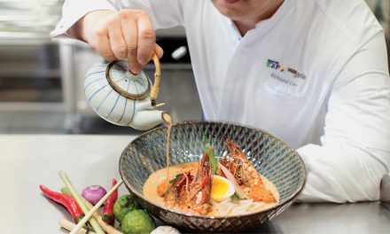 Singapore Expo and Max Atria combine culinary arts with technology by launching the newest Kinetic Kitchen, K2 dining room, and one77-degree café