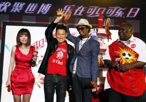 Jacki, Zhang, Jane Zhang, K'Naan and Baruti