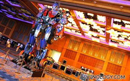 2012 Transformers Cybertron Con @ Resorts World Sentosa – Media Preview