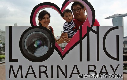Catch Alvinology at the Loving Marina Bay 2012 Exhibition @ Clifford Square