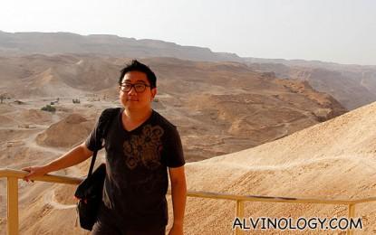 Dig Israel Day 2 – Massada and Kfar Hanokdim