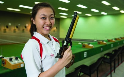 Shooter Teh Xiu Yi Wins Second Medal for Singapore at Nanjing 2014 Youth Olympic Games