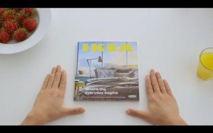 IKEA takes a stab at Apple's obsessive advertising