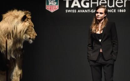 TAG Heur appoints Cara Delevingne as new feminine ambassador