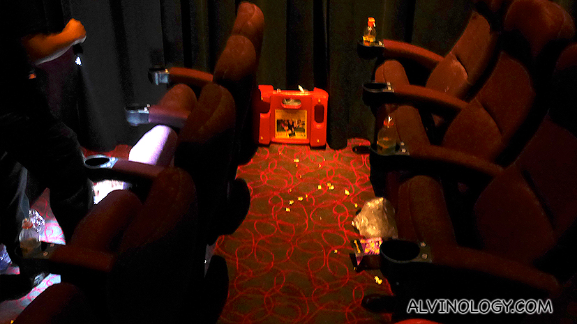 Think Singaporeans are clean? You will not believe how many trashe we leave behind in cinemas