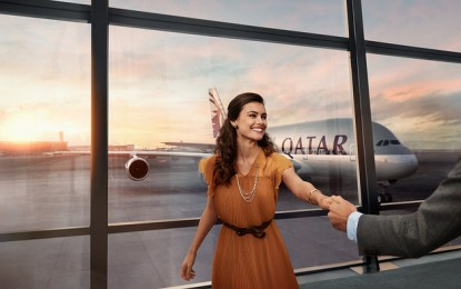 Qatar Airways 's new global brand campaign – Going Places Together