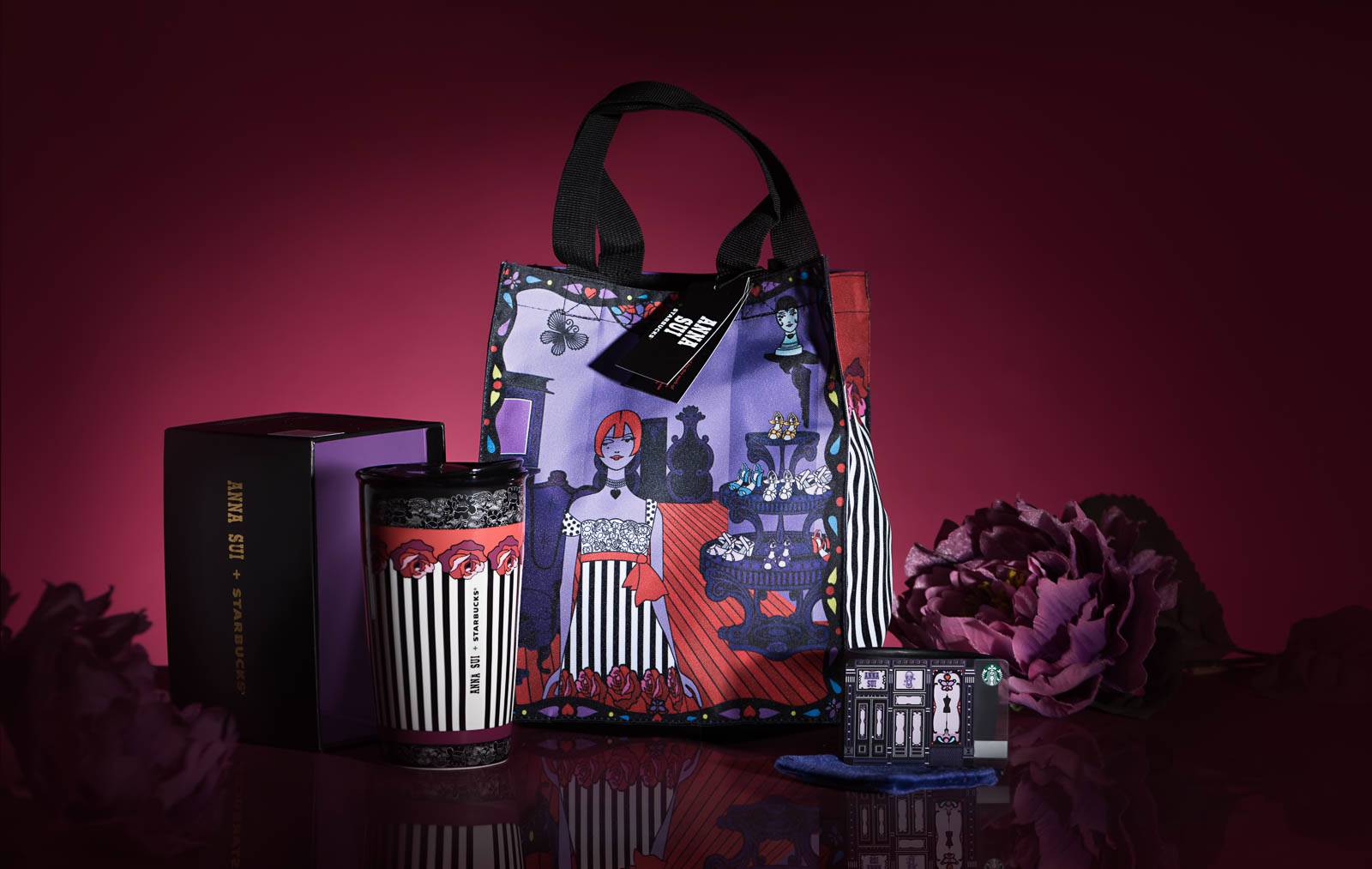 Starbucks X Anna Sui for Christmas
