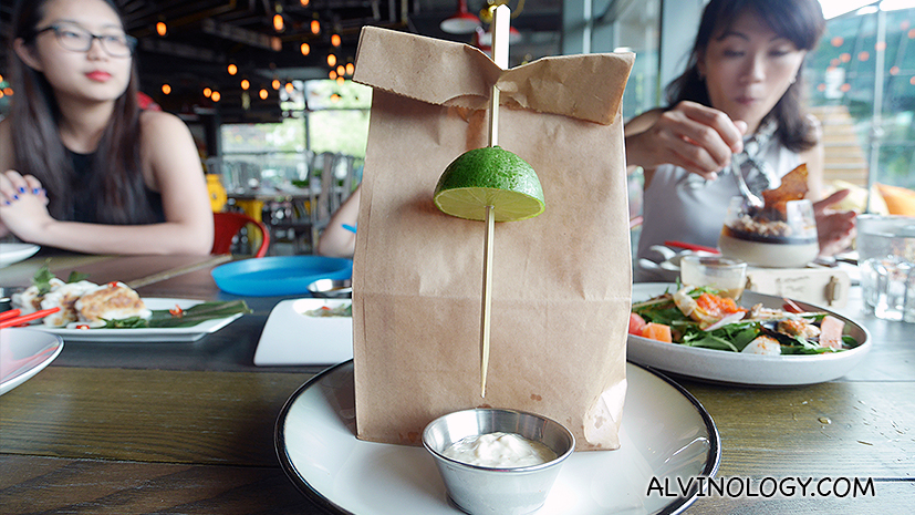Can you guess what's inside this cute little brown bag?