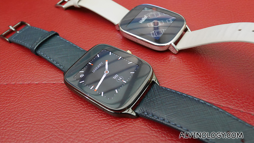 ASUS ZenWatch 2 – Why get just one when you can get two?