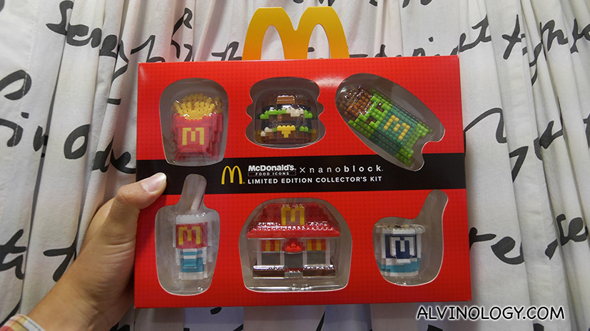 How to get the full set of the McDonald's Food Icons X nanblocks collectibles in Singapore