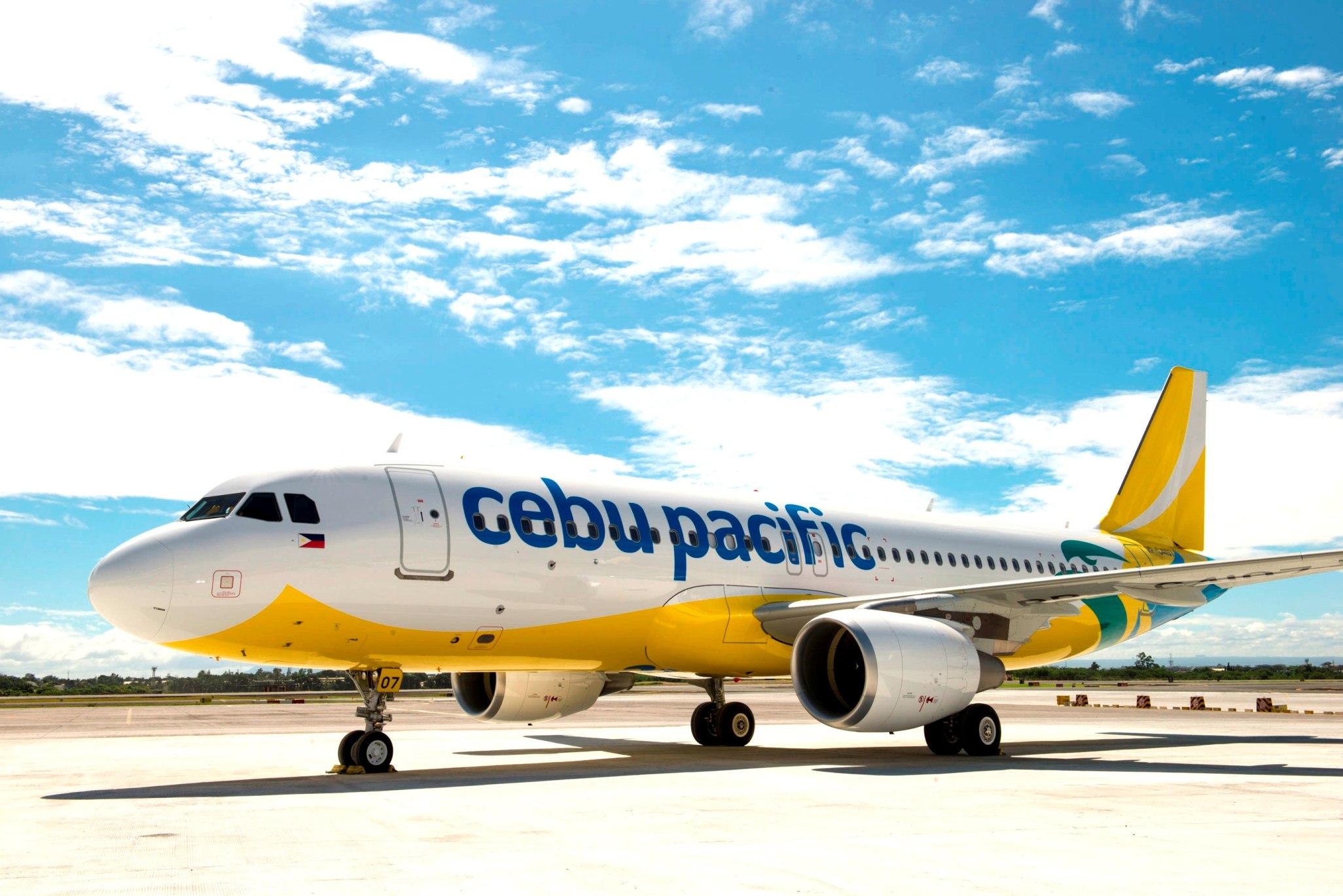 Cebu Pacific Air's new livery