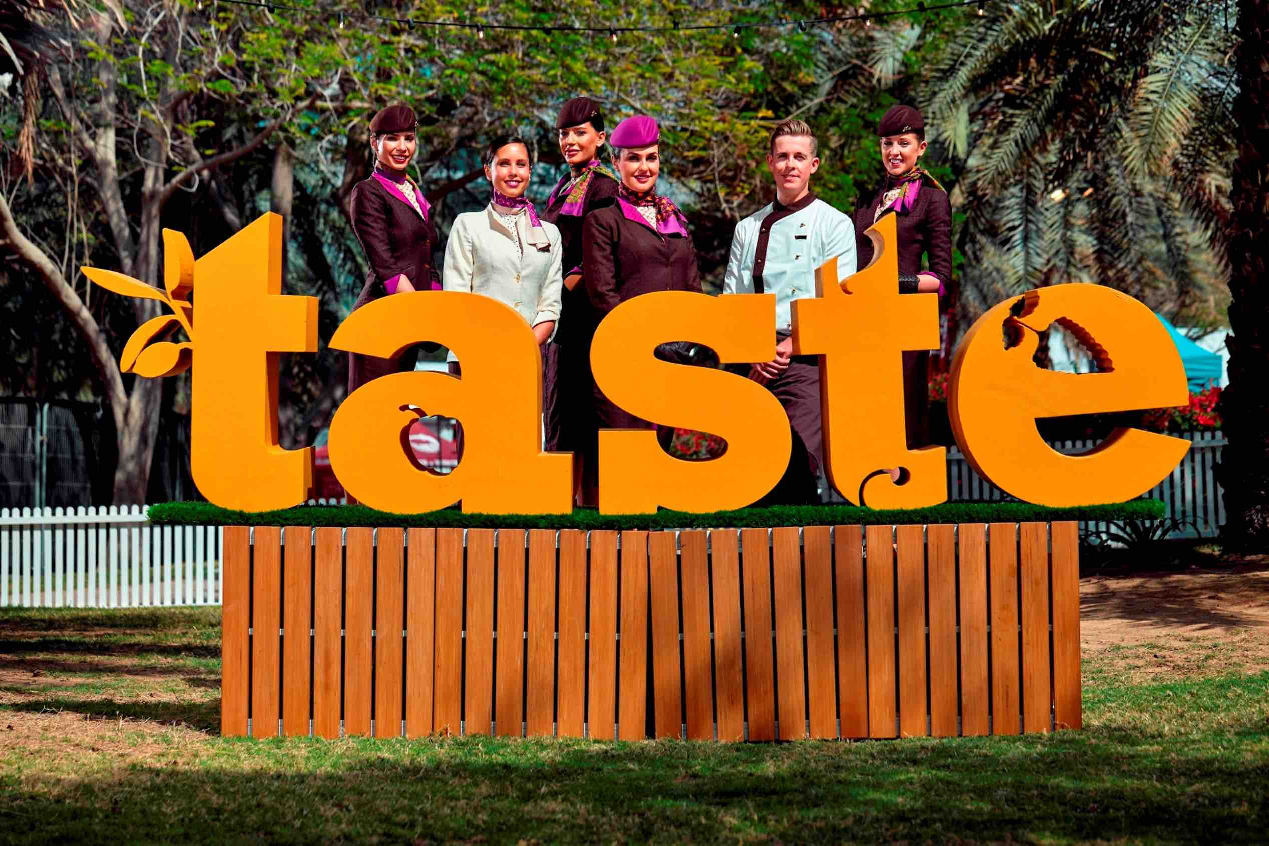 Etihad Airways Partners Taste Festivals