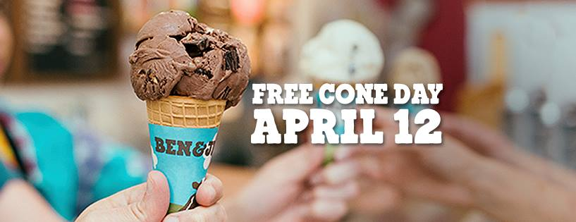 Ben & Jerry's 10th Free Cone Day is next Tuesday!