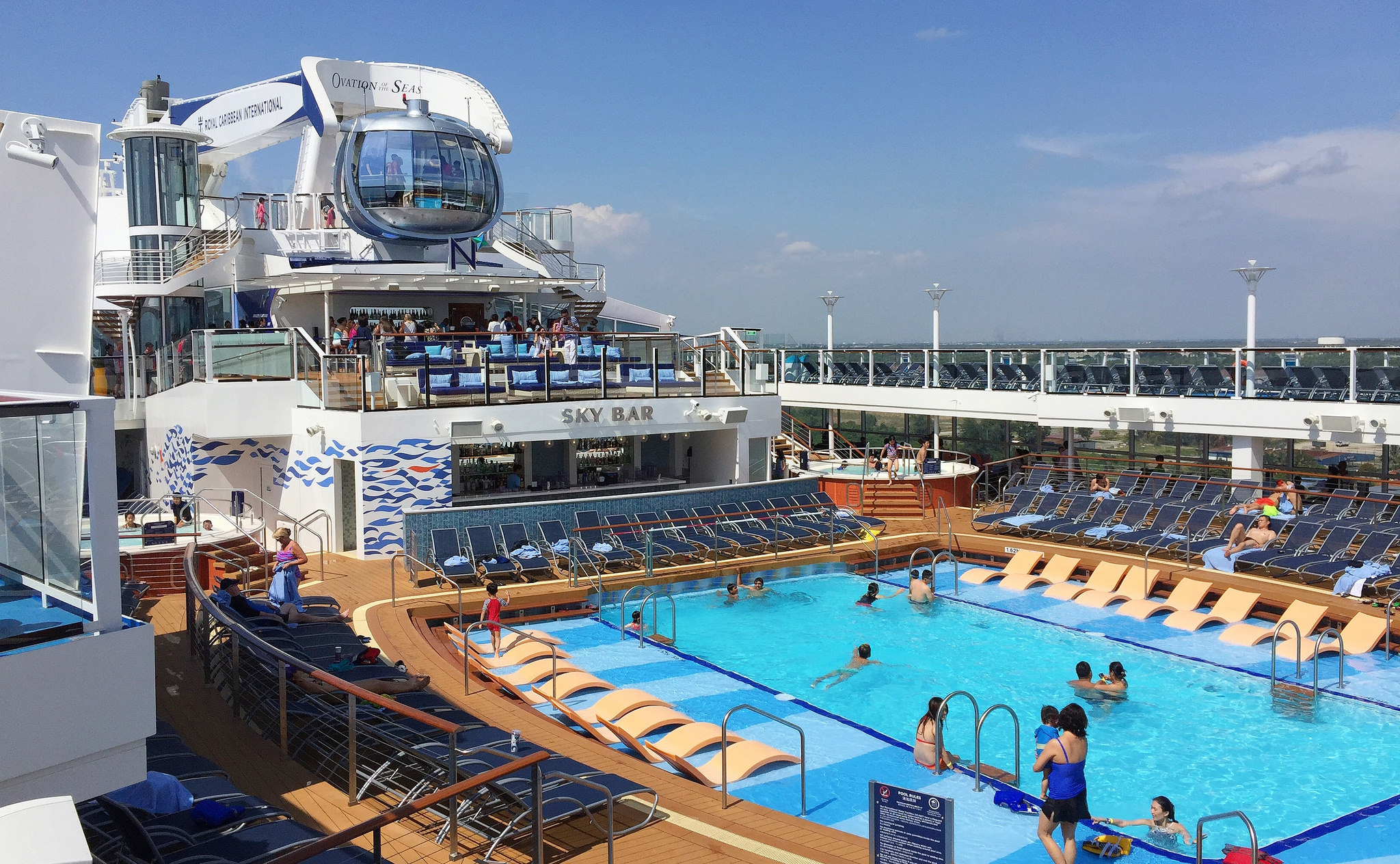 Things To Do In Royal Caribbean's Ovation of the Seas