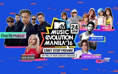 Are you ready for MTV Music Evolution Manila 2016?