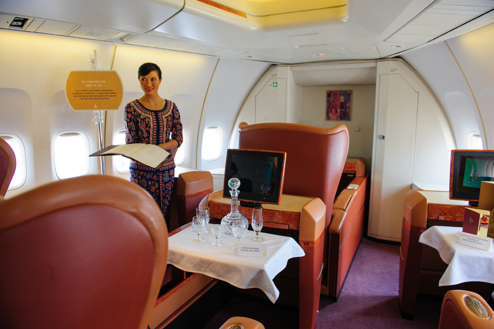 How You Can Fly for Free on First Class with Your Credit Cards
