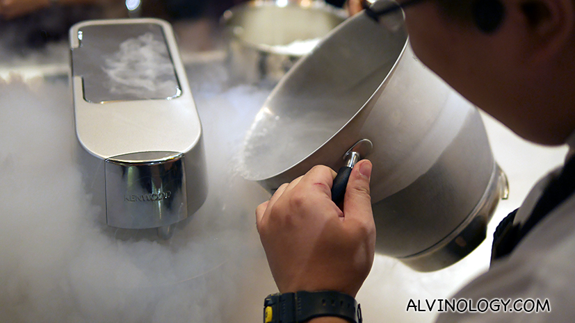 Working with dry ice