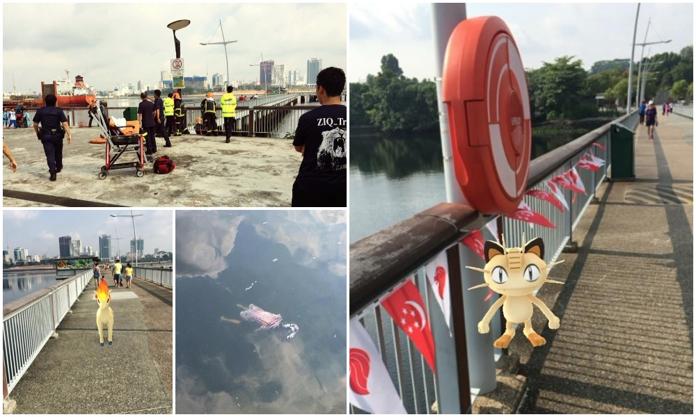 Guy in Singapore finds dead body while Pokemon hunting