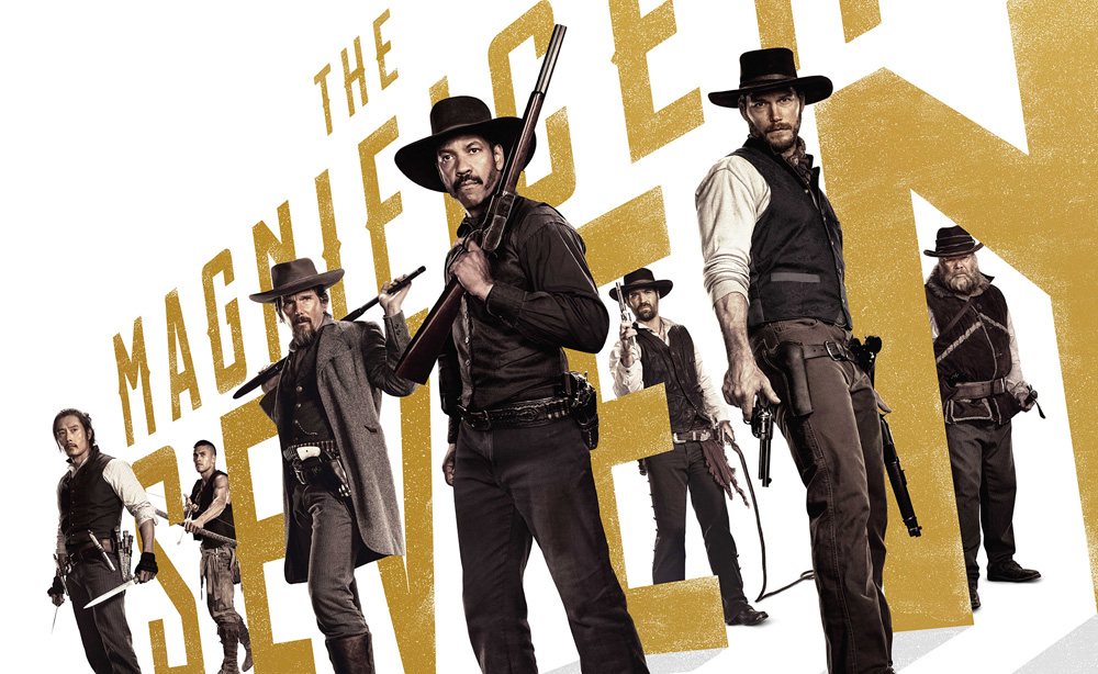 Film director and producer Antoine Fuqua speaks about The Magnificent Seven