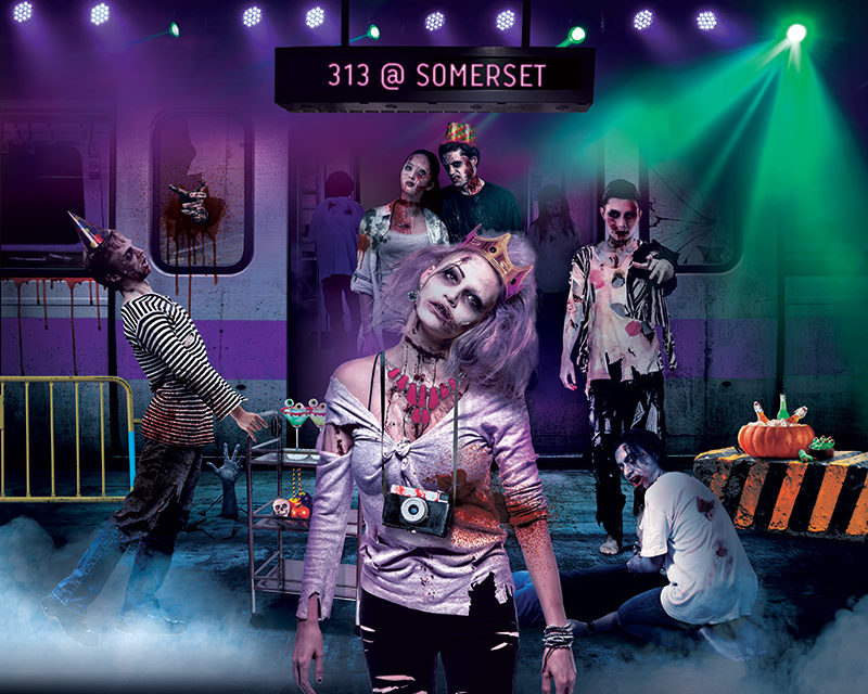 Arrive To Survive This Zombie-Infested Halloween at 313@somerset