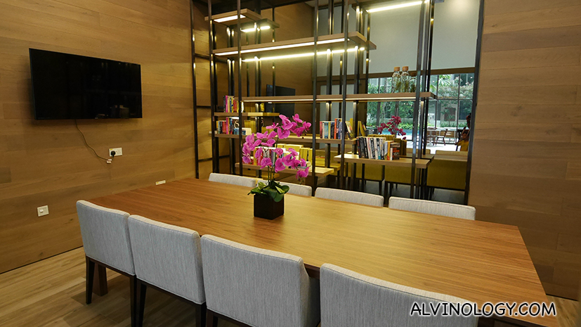 Meeting room on ground floor which guests can book for free