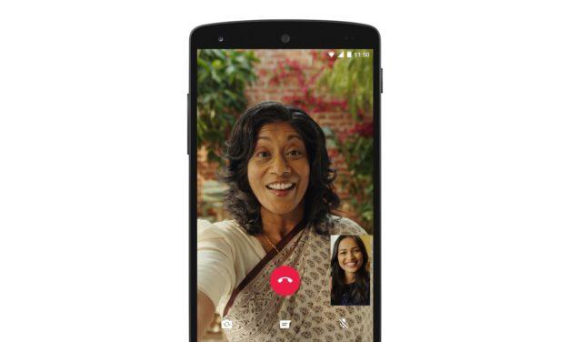 WhatsApp Launches Video Calls Globally