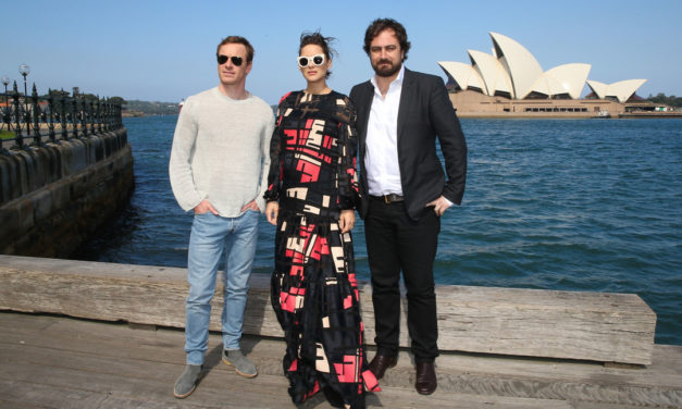 In Sydney with Michael Fassbender for Assassin's Creed Movie