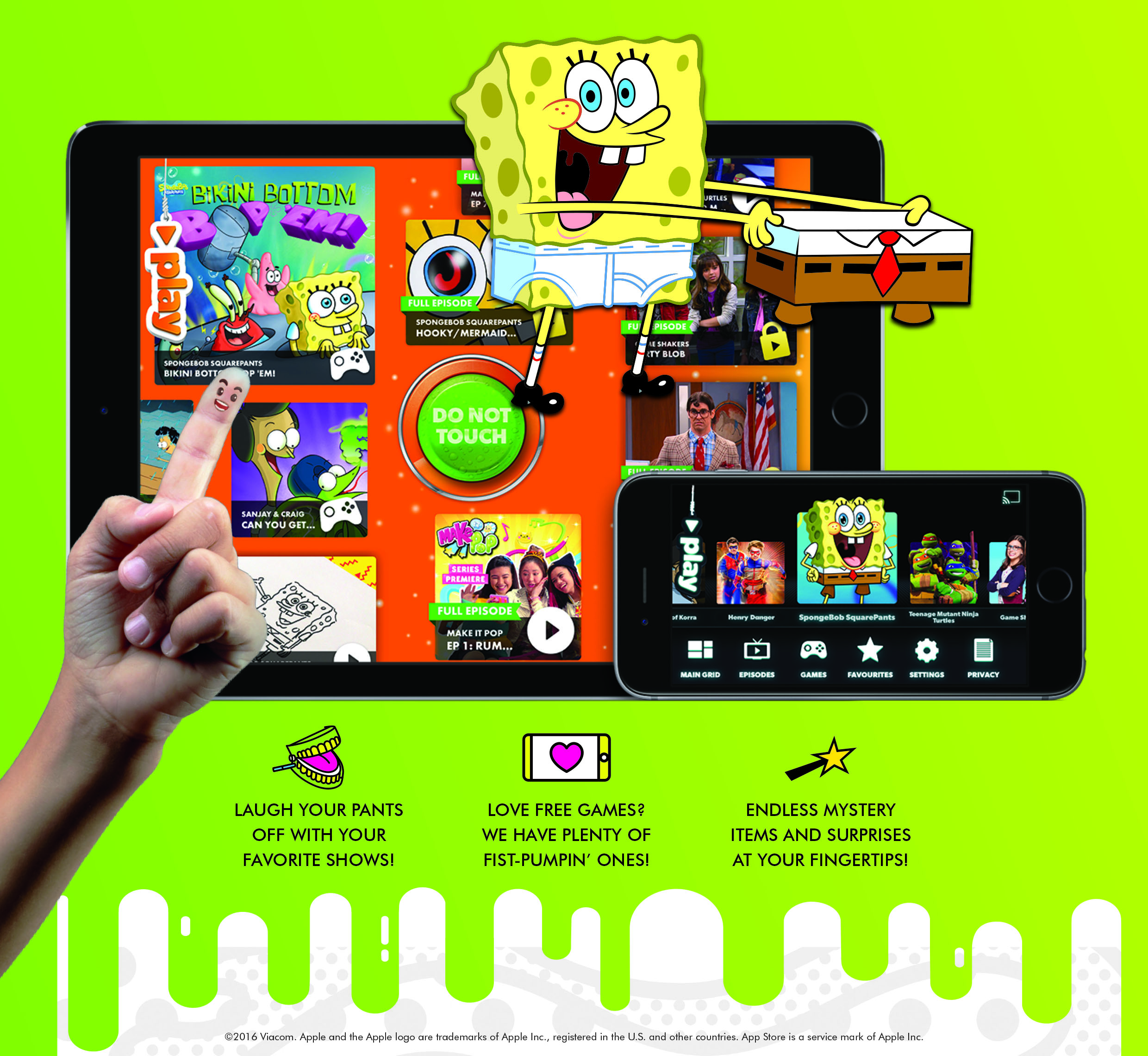 Nickelodeon Play app for kids - Alvinology