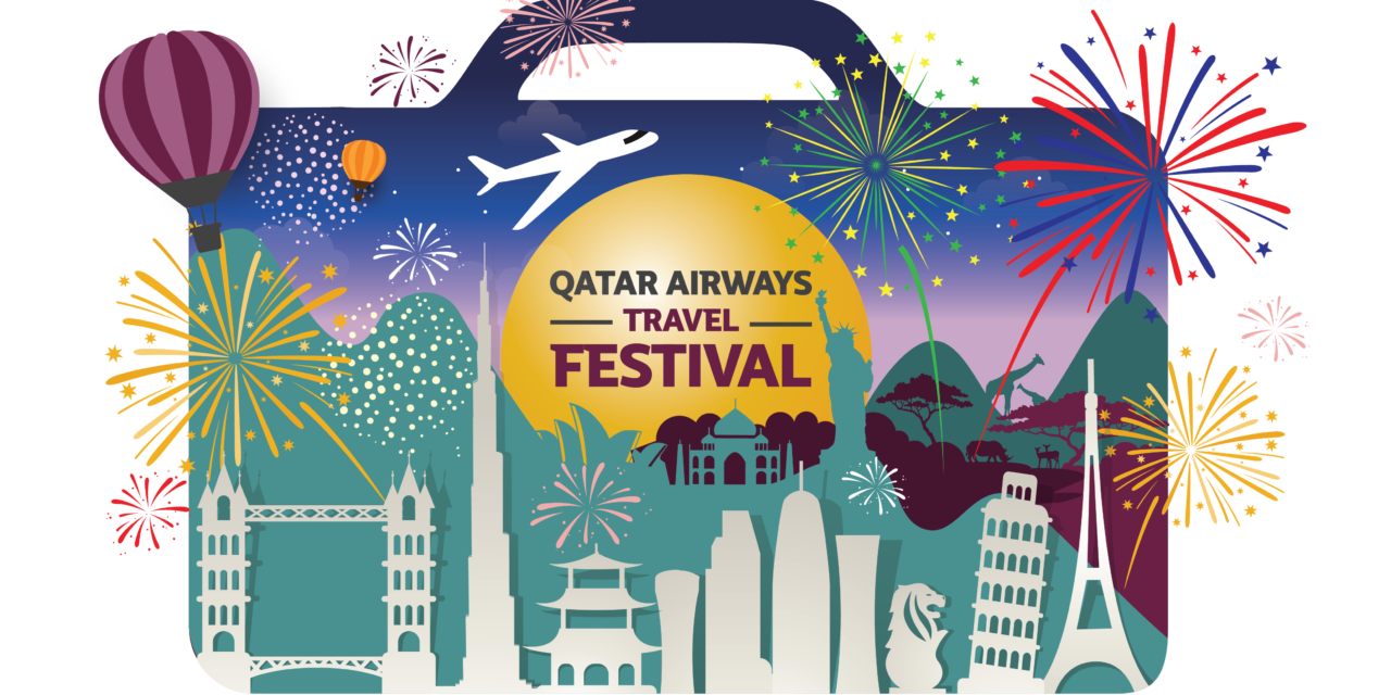 [Promo Alert] Qatar Airways unveils its biggest Travel Festival ever