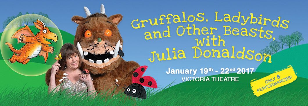 [GIVEAWAY] KidsFest 2017 - Come meet Julia Donaldson in person! - Alvinology