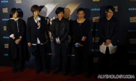 12th KKBOX Music Awards in Taipei, featuring Hebe Tian, JJ Lin, Mayday and more!