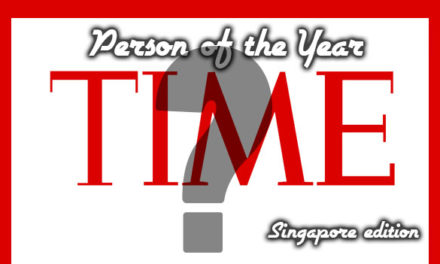 Time Person of the Year 2016 (Singapore Edition) – The Winner is…