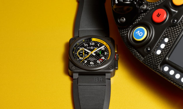 Bell & Ross Unveils New Timepiece at Renault Sport F1 Team New R.S.17 Car Livery Launch