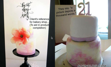 Cakes on Instagram vs Cakes in Real Life