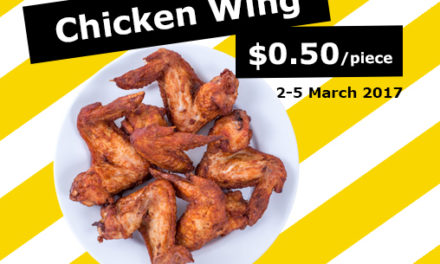 Unbelievably Cheap Chicken Wings for Only 50 Cents at IKEA from 2-5 March