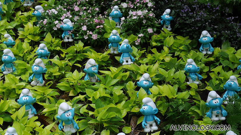 The Smurfs have invaded Jurong Bird Park!
