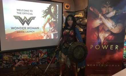 Singapore Cosplay Club at the Wonder Woman Media Launch