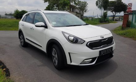 Test Driving the Kia Niro hybrid utility vehicle for Singapore roads