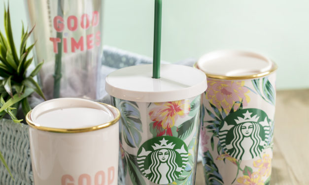 Feel Good This Tropical Season With Starbucks Latest Limited-Edition Designer Collection