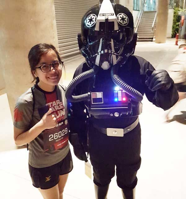 Singapore's Very First Star Wars Run