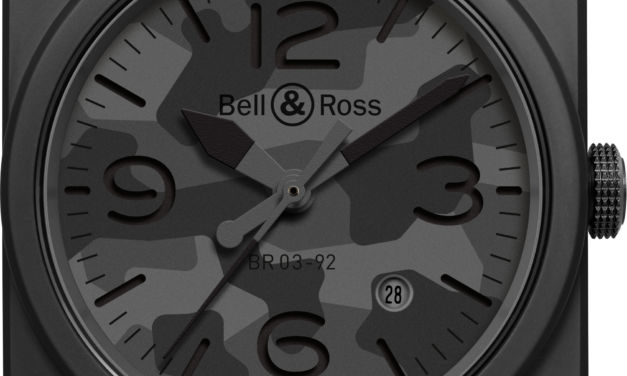 Bell & Ross Goes Matte On The Camo For 10th Anniversary Timepiece