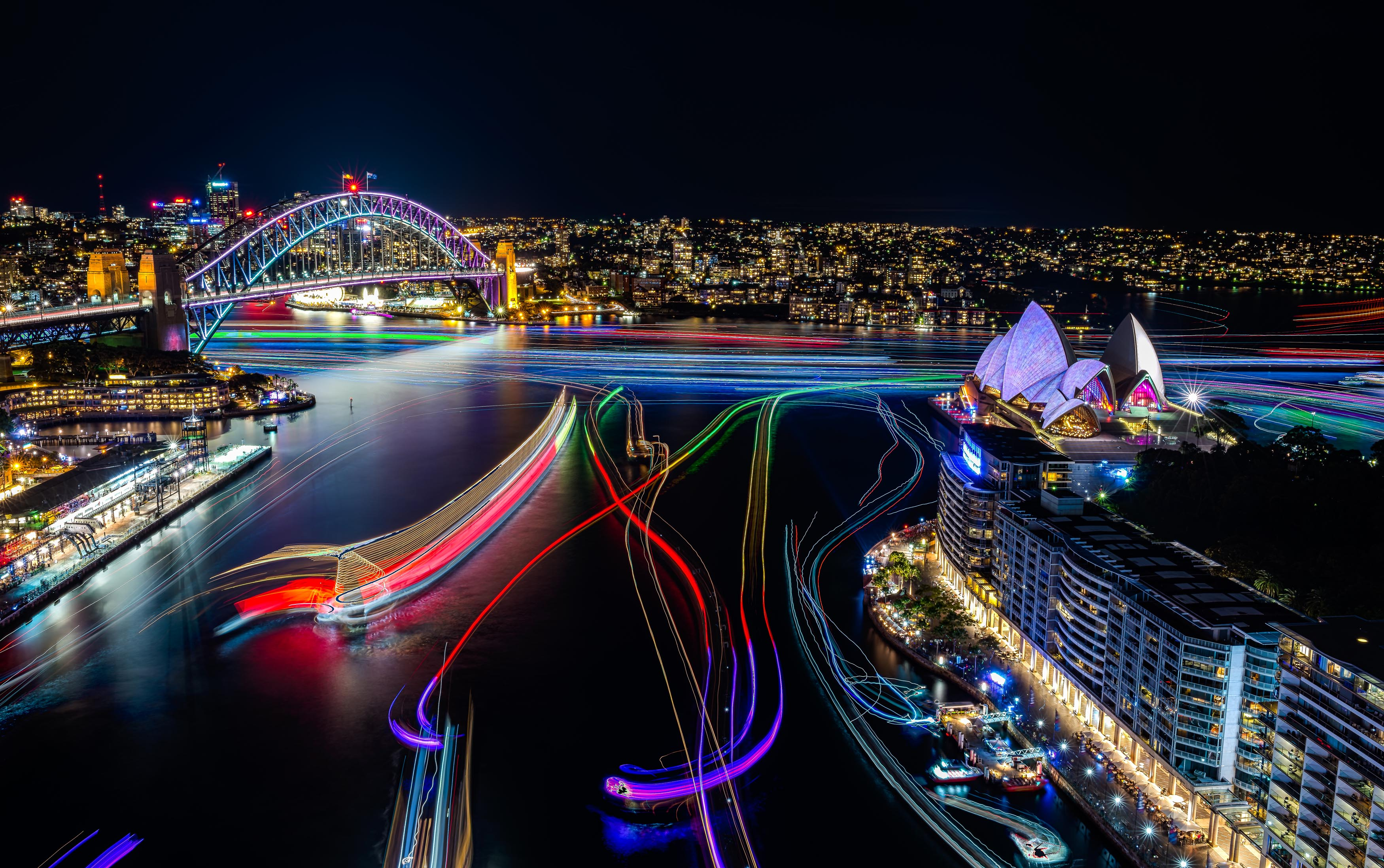 Dreamscape creator for Vivid Sydney 2017 breaks global record - Alvinology