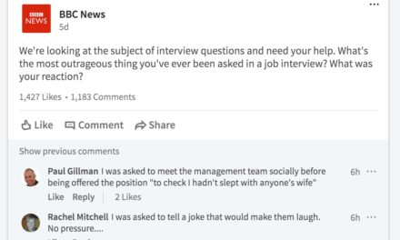 """What's the most outrageous thing you have ever been asked in a job interview?"""
